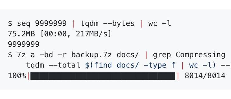 Python 输出命令行进度条