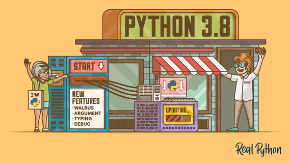Python 3.8.0 正式版发布,新特性初体验